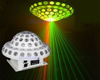Wholesale 2015 new arrival RG mushroom laser light with christmas party ceiling Red Green Blue Yellow Pink led light balls stage light