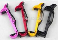 Wholesale DHL NEW Car Steering wheel phone Universal Mount Holder Handset shelf stand Mobile dropping