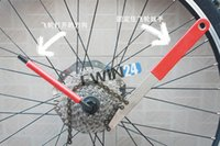 Cheap New and high quality Bicycle Bike Cassette Freewheel Chain Whip Remove Tool+ Lockring Remove Tool Set 100sets
