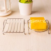 Wholesale New Arrivals Storage Rack Shower Soap Dishes Holder Shelf Bathroom Accessories Stainless Steel Size CM JB10