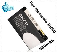 Wholesale Replacement BK60 battery for Motorola BK60 mobile phone battery bateria with Grand A quality