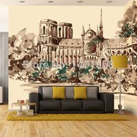 Wholesale High quality Modern Luxury d wallpaper D wall mural papel de parede photo wall paper Oil painting of European