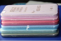 Wholesale Ultra Thin Transparent Clear TPU Case For iPhone S Plus Cover For Samsung For Sony