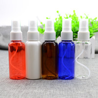 Cheap 25pcs 50ML Portable Refillable Lotion bottle Plastic Fine Mist Perfume Make Up Clear Empty Spray Bottle Cosmetic Atomizers With A Stylus
