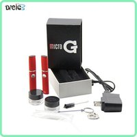 hot - 2014 New Product Micro Gpen Wax Dry Herb Vaporizer Hot Selling Snoop Dogg GPEN E Cigarettes Kits Latest Style DHL