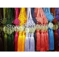 Wholesale SMILE MARKET Good luck and happiness Chinese knot Car Hanging Decoration Ornaments