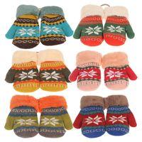 cotton gloves white - 2014 new brand design warm keep soft children gloves winter baby gloves geometric knitted patterns colors white cotton gloves