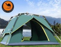 Wholesale High quality Tent person double layers seasons using instant automaticaly open camping anywhere tabernacle