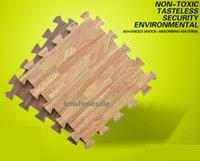 Wholesale NEEU wooden print EVA mat children play mat playmat for kids baby crawling mat EVA foam mat baby mat baby gym mat