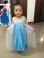 Cheap Free Shipping Dress Best Baby Elsa Dress