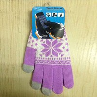 Wholesale Hot Magic Touch Screen Gloves Smartphone Texting Stretch One Size Winter Knit