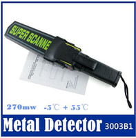 Wholesale to RU Professional Portable Super Scanner Handheld Metal Detector MD B1 new top sale