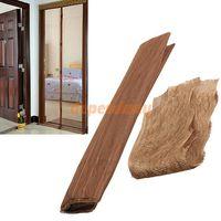 Wholesale 210 cm Magic Mesh Screen Door Magnetic Anti Mosquito Bug Curtain Coffee