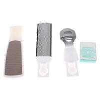 Wholesale 3 in Callous Corn Cutter Remover Blades Pedicure Foot File Rasp Tool Set