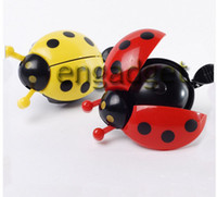 Cheap Bicycle Metal bell Ring Bike Handlebar Bell cycling Horn Bicycle Ladybug Bell Ladybird Alarm ring Bike Accessories High quality 00544