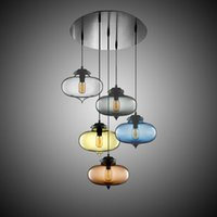 Wholesale Modern Globe Glass Pendant Lights Dining Room kitchen Pendant Lamps Italy Designer Chandelier Indoor Lighting Fixtures