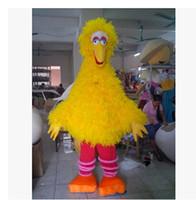 Wholesale New Yellow Big Bird Costume Mascot Sesame street mascot costume