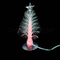 Cheap Wholesale-Hot Sale 5PCS USB Powered Romantic Lamp Color Changing Light LED Multi Color Christmas Tree Light Lamp with Sucker