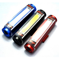 Wholesale 3 Mode Color Bicycling Light Waterproof COB LED Fashion Bicycling Lanterna for Bicycling Camping Night Light