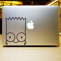 Wholesale The series of The Simpsons Creative personality Vinyl Local Decal Sticker Skin for Apple MacBook12 quot air11 quot quot Pro13 quot quot quot Retina13 quot quot