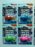 Nouveauté eau chaude Nouveau poissons robo arrvial Activé MagicalTurbot poissons clowns électronique magie de Noël Enfants Jouets grande qualité DHL gratuitement