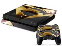 ps4 console - Superman DECAL SKIN PROTECTIVE STICKER for SONY PS4 CONSOLE CONTROLL