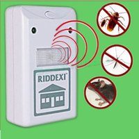 Wholesale Hot Selling Riddex Plus Electronic Mouse Mosquito Insect Rodent Pest Control Repeller US Plug Drop Shipping