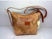 alviero martini bags - Alviero Martini Map Pack Women In Elegant Fashion Classic Genuine Leather Messenger Bag