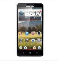 Original Lenovo P780 MTK6589 Quad Core Android4.2 Teléfono Celular 1G RAM 4G ROM Con 5.0 Pulgadas de Pantalla IPS de 8.0 MP Cámara móvil