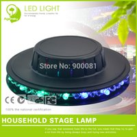 RGB led dance floor - Black W LED Stage Lighting Dancing Floor LM Mini DJ Party LED Stage Flash Effect Light pieces