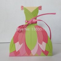 bachelorette party favours - Fairy Dress Gown Shaped Favor Boxes Favors bags Treat Box gift box Bachelorette Favour Party Treat Boxes