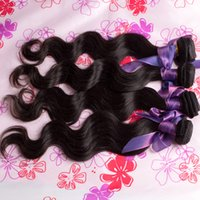 cuticle remy hair - Peruvian Virgin Hair Body Wave Unprocessed Natural Cuticle Wavy Remy Human Hair Weave Black Bundles Mixed Length