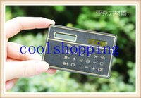 Wholesale DHL Freeshipping Ultra Thin Calculator Solar Slim Card Portable Calculator New Exotic Products Novelty Promotional Gift