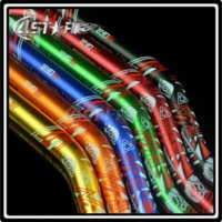 Wholesale ALLOY HANDLEBAR quot MM OVERSIZE HANDLE BARS FAT BAR FOR CR125 CR250 CRF450R CRF250R CRF250X CRF450X CR500 DIRT BIKE RED