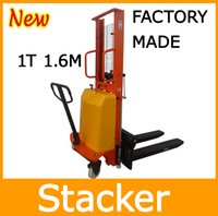 Wholesale Factory Made Ton M Cheap and Durable Semi Electric Pallet Stacker Forklift
