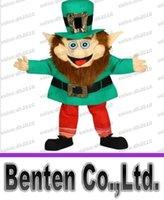 adult leprechaun costume - Larry The Leprechaun Mascot Adult Costume hallowwen christmas birthday Party Supplies LLFA4284F