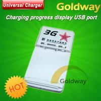 battery charger converter - Universal charger New US battery s dock EU plug Converter adapter For mobile phone battery power converter