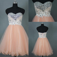 Wholesale Custom Made High Quality Short Prom Dresses Vestido de Festa Beaded Mini A Line Prom Gowns Party Dress