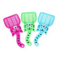 Wholesale LS4G New Cat Dog Pet Poop Scoop Sieve Litter Animals Wastes Cleaning Plastic