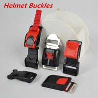 Wholesale motorcycle helmet buckles quick released ATV DIRTBIKE off road helmet buckles bicycle skiing helmet buckles