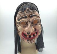 GN M028 sorcière masque hommes masquent les femmes masquent costume de cosplay masque masque film de masque peur et vidéo prop