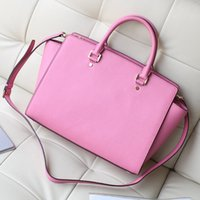handbags usa - USA Sema Saffiano Large Satchel Women Leather handbags Genuine Leather Luxury Famous Brand Selma Bags Women Messenger Bags