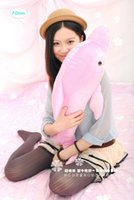 big plush dolphin - soft lovely plush dolphin toy stuffed dolphin pillow big birthday gift toy about cm the pink cute dolpin