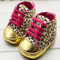 Cheap Baby girls shoes Leopard Toddler shoes soft sole baby Walkers Wear Comfortable kids Casual Shoes xz0011
