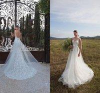 dresses in china - Berta Mermaid Wedding Dress Chapel Train Strapless Strap Vestidos de Novia Made In China Sexy Bridal Gowns Desinger