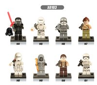 Wholesale set Star Wars The Force Awakens Minifigure Phasma Kylo Ren Building Block Toys without box Kids Gifts