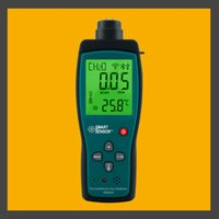 Wholesale Handheld Formaldehyde Gas CH2O Detector Meter Tester Monitor Range PPM Sound Light Alarm Li battery AR8600