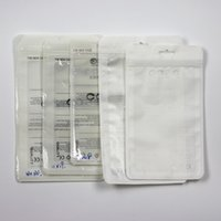 venda por atacado waterproof bag for mobile phone-Plástico impermeável sacos de embalagem Poly Acessório Acessórios Protetor de Tela Zipper bloqueio para Mobile Phone Case Retail Pacote Handles