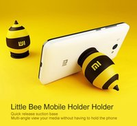 android bee - Original Xiaomi Little Bee Silicone Mobile Phone Stand Car Holder for Android Mobile Phone iPhone Plus Samsung Note etc