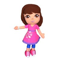 baby dora toys - 10pcs cm Cartoon Dora Plush Baby Toy Anime Movies TV Dora The Explorer Stuffed Dolls Toys for Children Kids Birthday Gifts